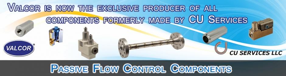 CU Services Passive Flow Control Components
