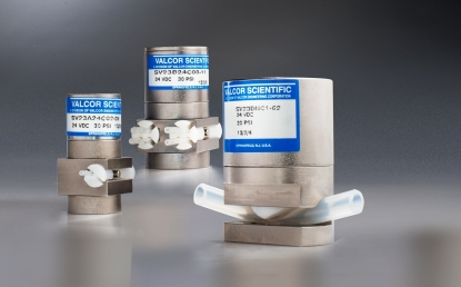valcor scientific pinch valves